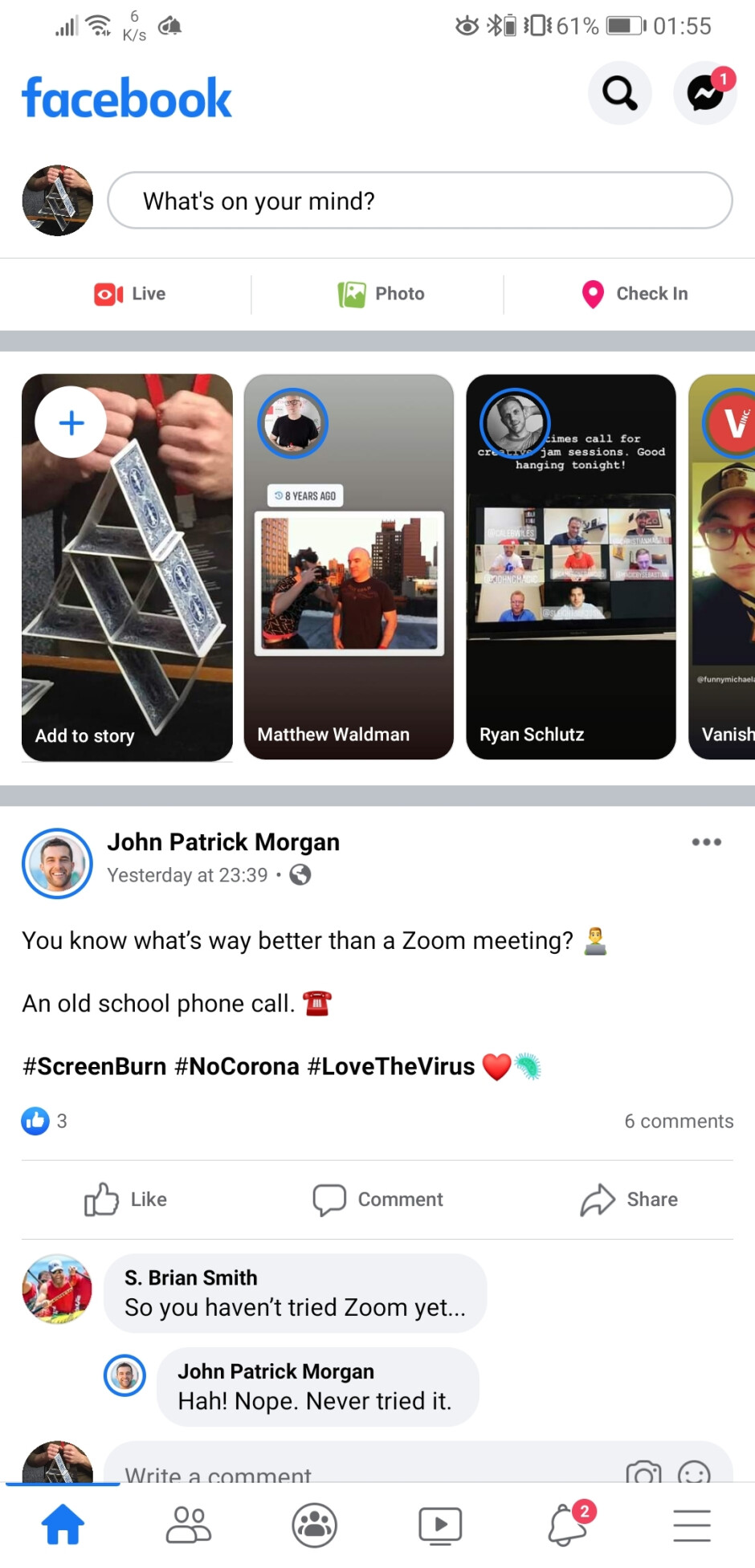 Image credits -tboy2000 via Reddit - Facebook starts rolling out new UI on Android devices