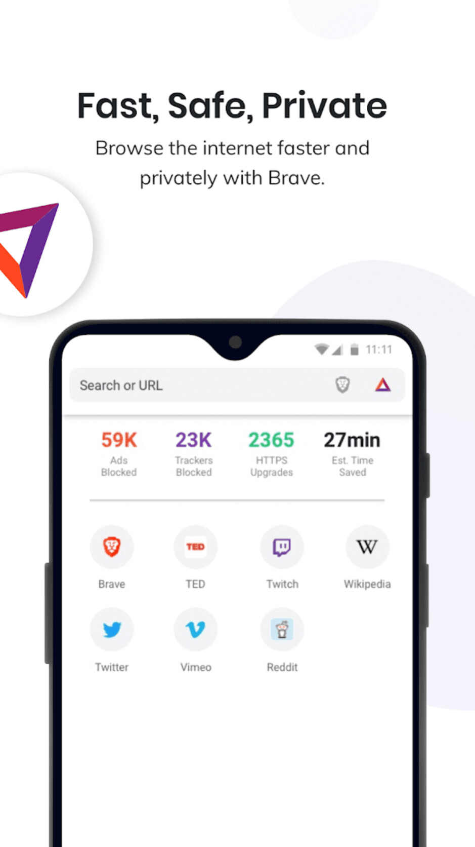 Brave - Best Android apps
