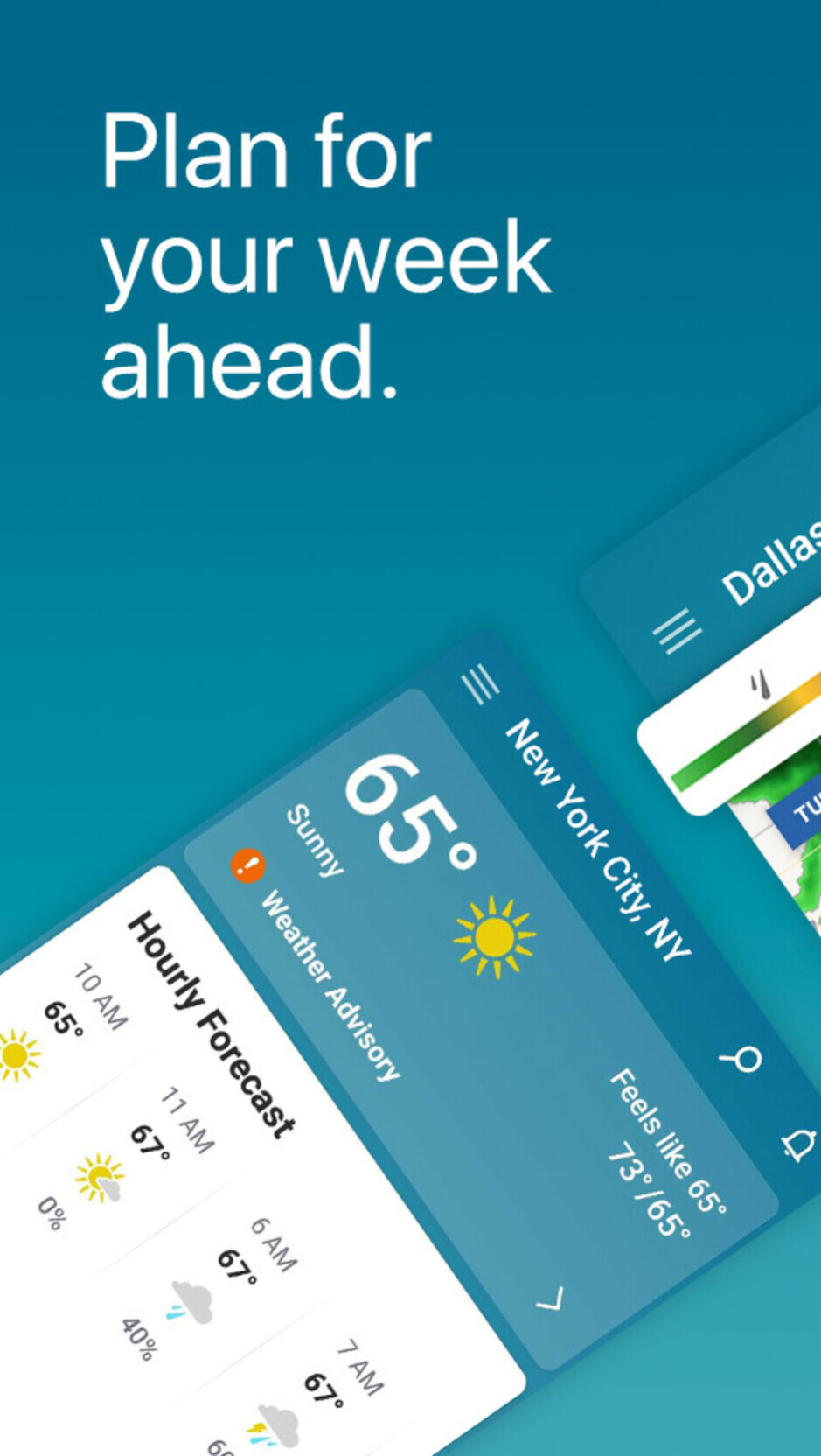 The Weather Channel - Best Android apps