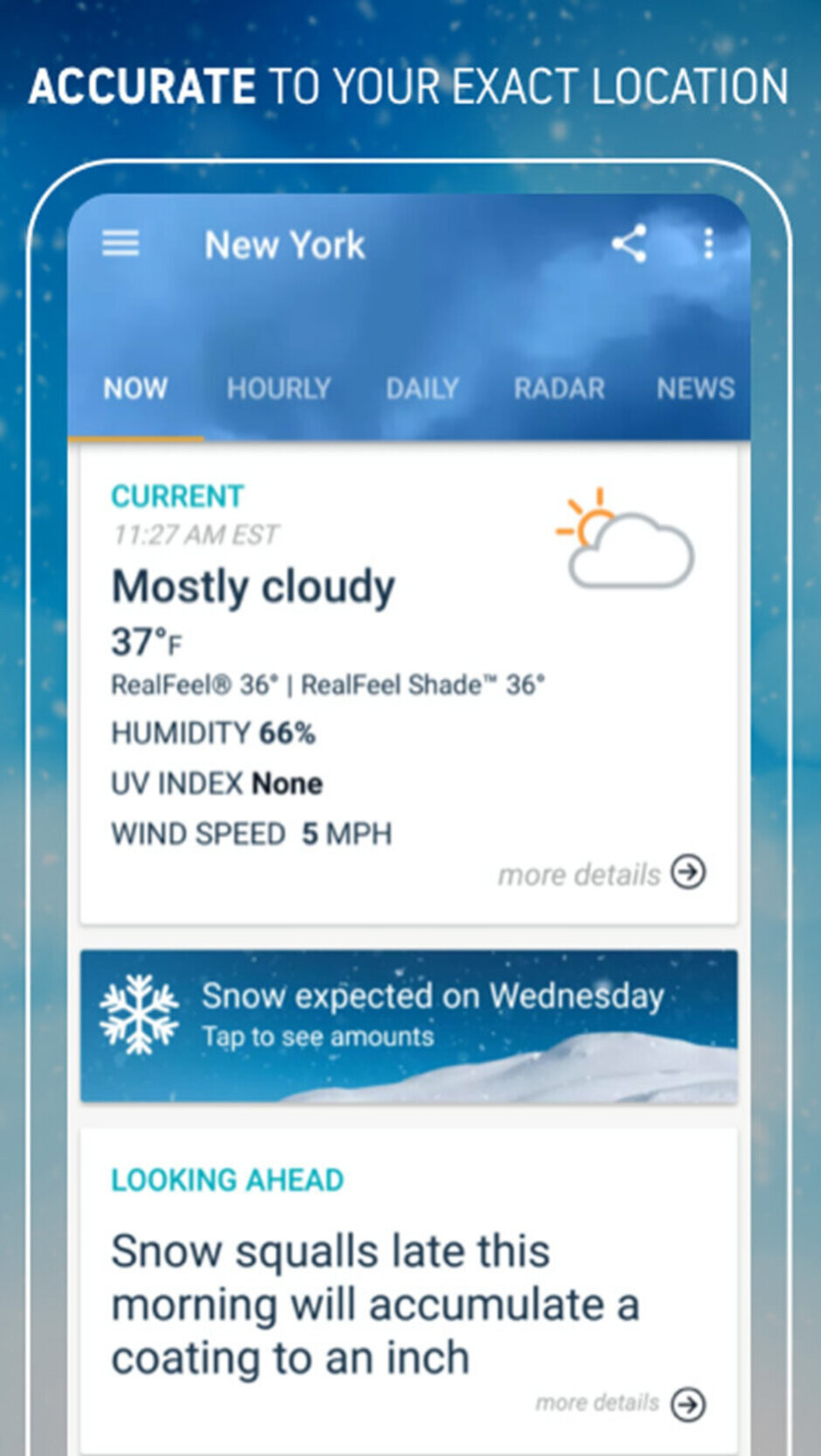 AccuWeather - Best Android apps