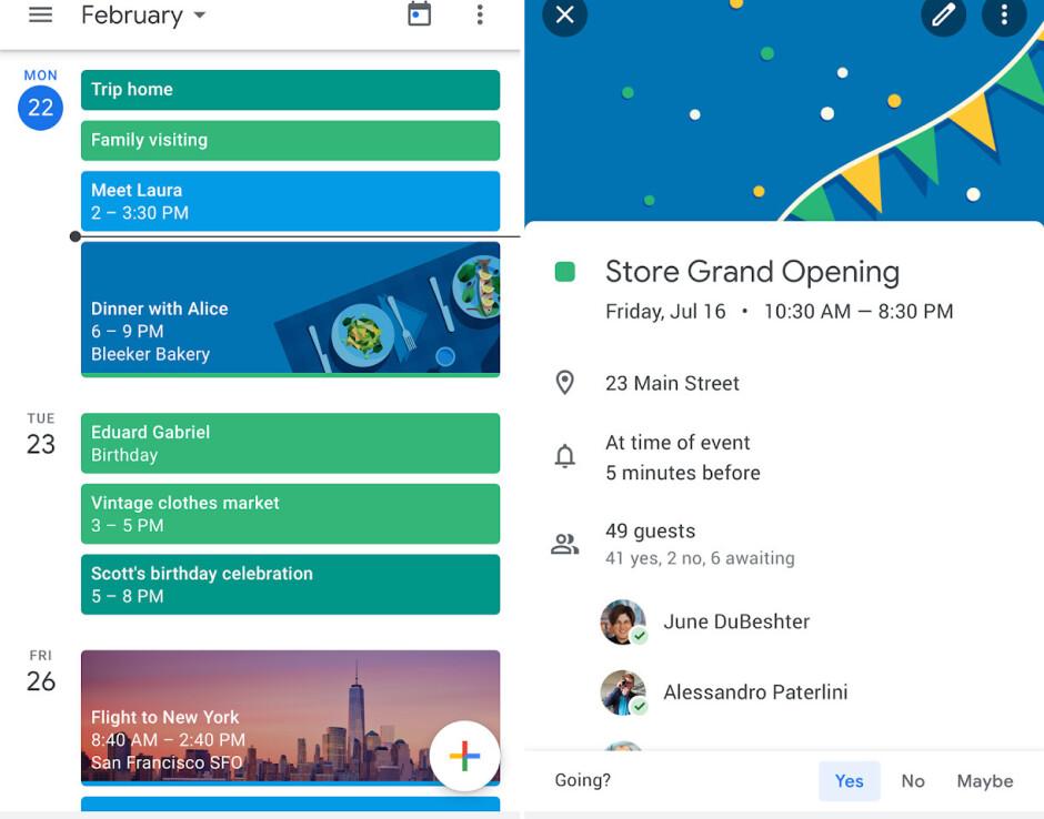 Google Calendar - Best Android apps