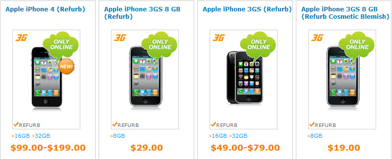 $99 will now buy you a refurbished Apple iPhone 4 with activation by AT&T