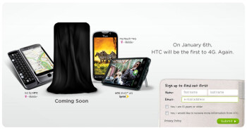 Verizon to get first 4G phone on January 6th?