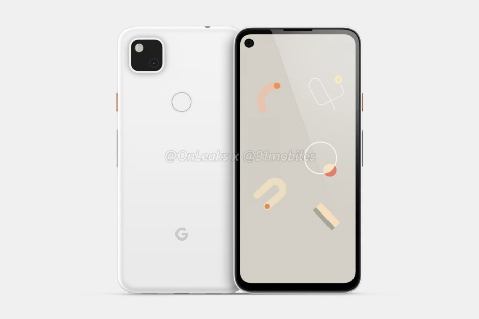 Leaked Google Pixel 4a render - Here's how the Pixel 4a XL probably looked before Google scrapped it