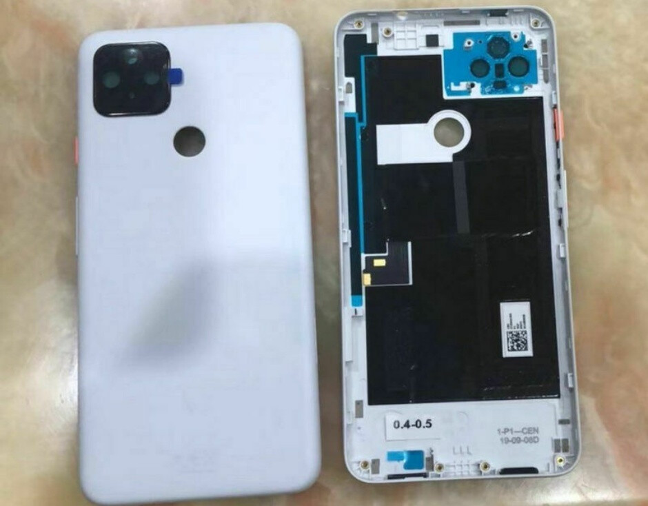 The Pixel 4a XL would have had two rear-facing cameras - Here's how the Pixel 4a XL probably looked before Google scrapped it