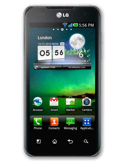 LG Optimus 2X - Looking forward to CES 2011