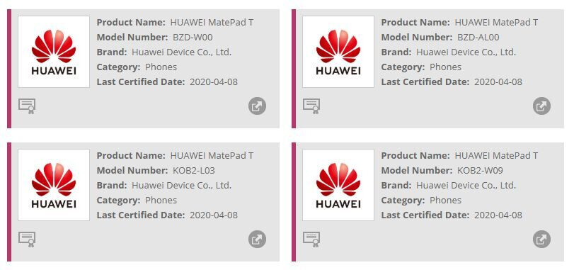 Alleged Huawei MatePad T tablet surfaces, could be an affordable 8-incher