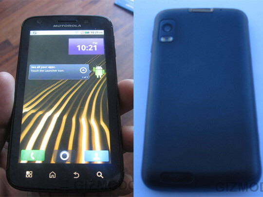 Motorola Olympus - Looking forward to CES 2011