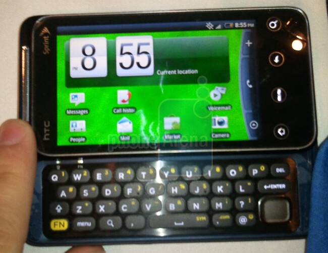 HTC EVO Shift 4G - Looking forward to CES 2011