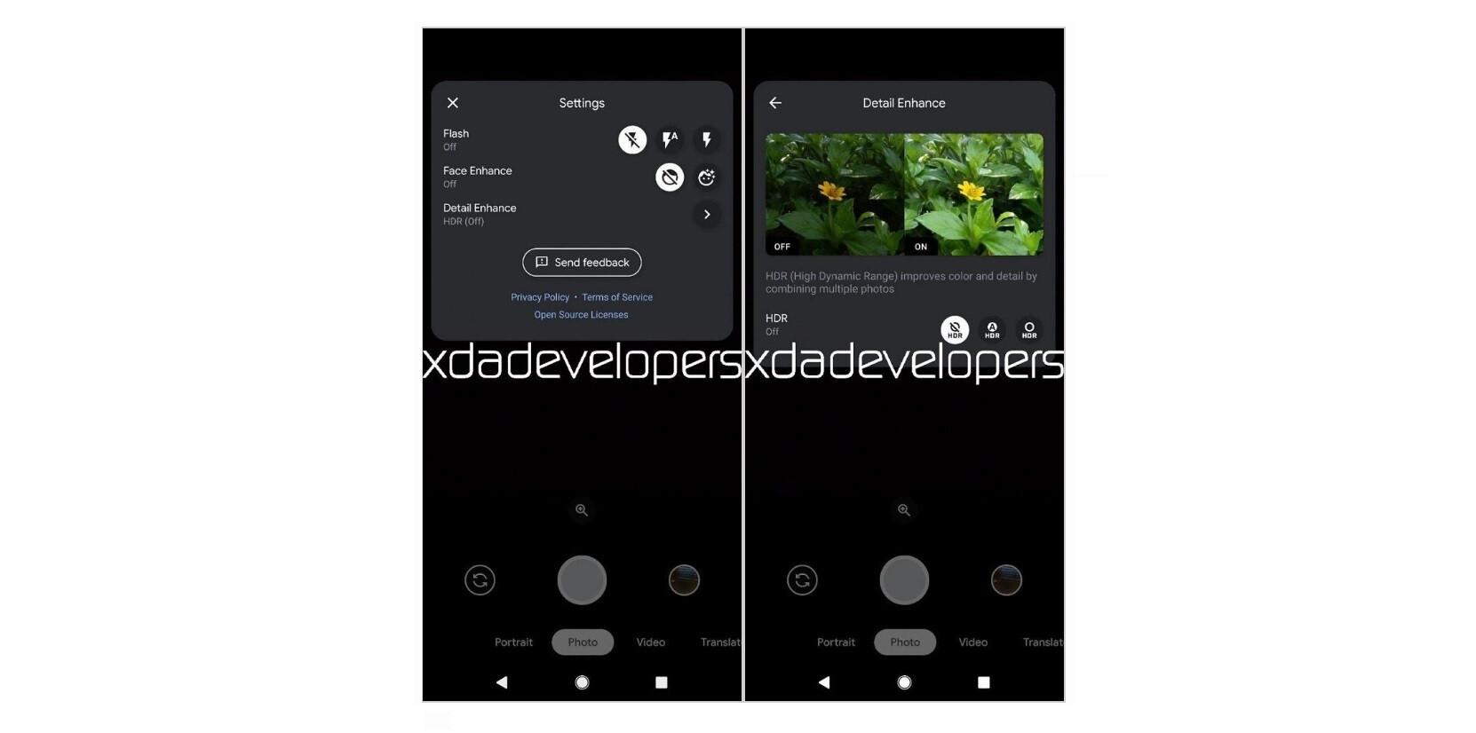 Görüntü kaynağı - XDA Geliştiricileri - HDR, bütçe Android Go telefonlarına geliyor olabilir