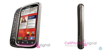 Motorola Cliq 2 could arrive shortly after CES