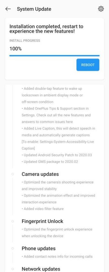 The OnePlus 8 and 8 Pro 5G get their first software update before they're even released
