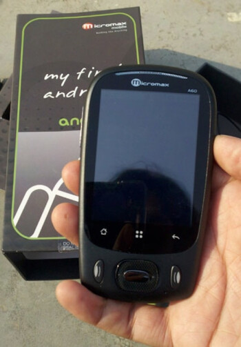 Micromax Andro A60 Android phone