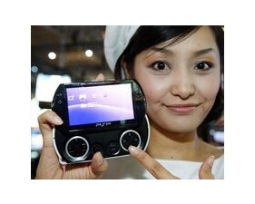 The English edition of Japanese newspaper Asahi Shimbun says that the new Sony Ericsson PlayStation phone will be modeled after the portable PSP GO gaming device, pictured above  - Spring launch of the Sony Ericsson PlayStation phone likely