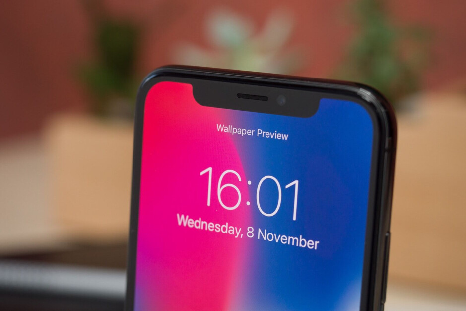 The existing iPhone notch - Here's what the iPhone 12 Pro 5G's notch might look like
