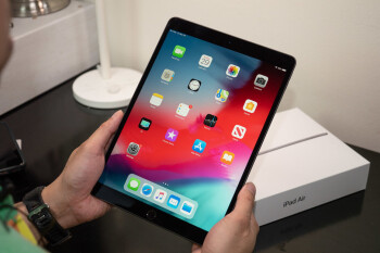 The current-gen iPad Air - New iPad Air with in-screen Touch ID, slim bezels coming September; budget iPad too