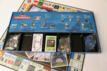 RIM edition of Monopoly board game gives you Free Parking