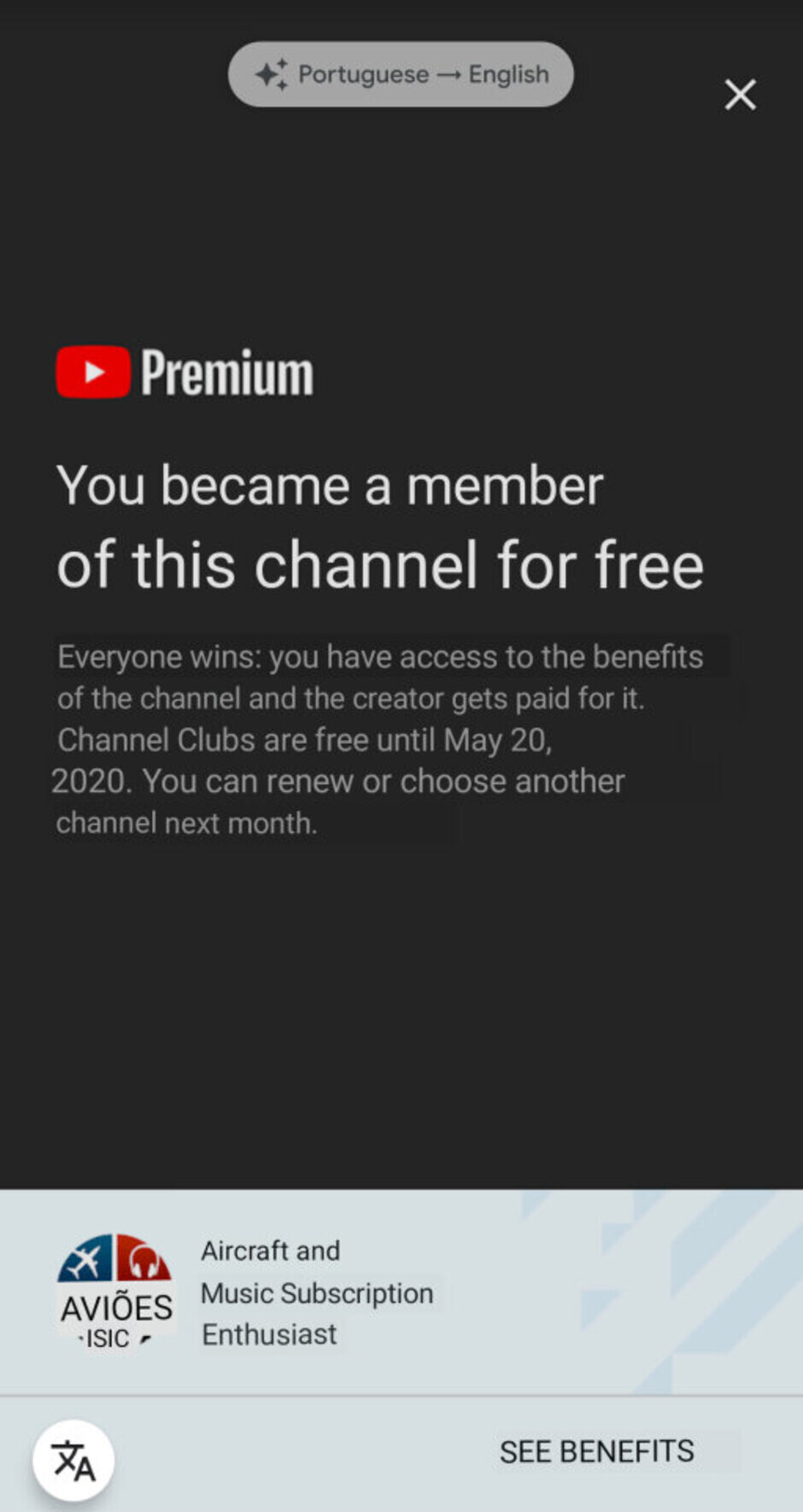 YouTube Premium starts testing Twitch-like feature in select countries
