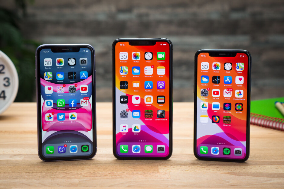 The iPhone 11 series - Apple to stockpile 5G iPhone 12 series due to potential component shortages
