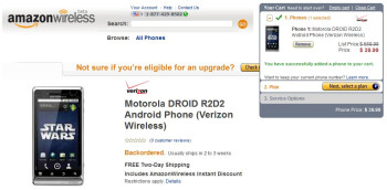 Motorola DROID R2-D2 Edition receives a new year price drop to $39.99 through Amazon