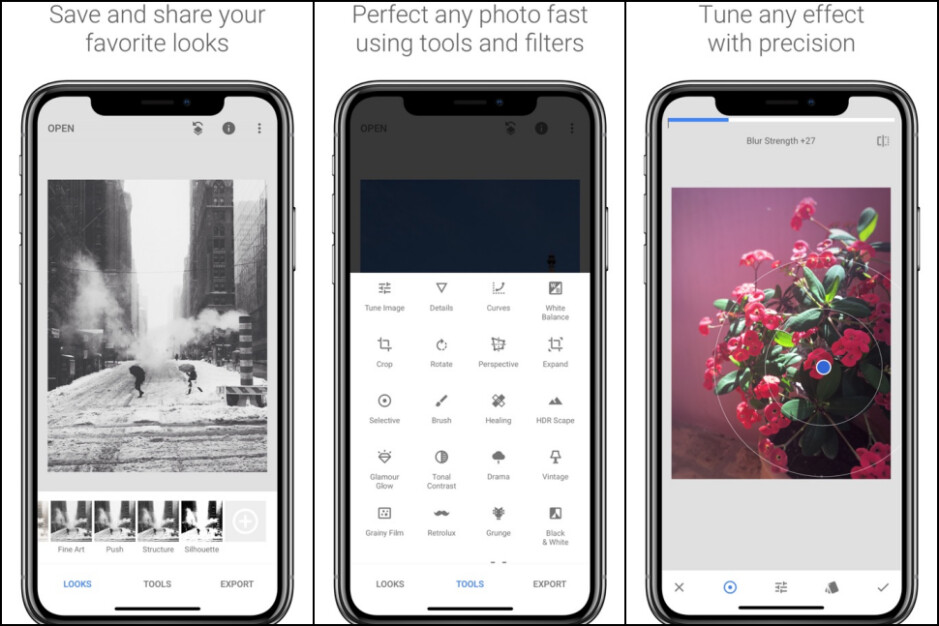 Snapseed - Best iPhone apps (2020)
