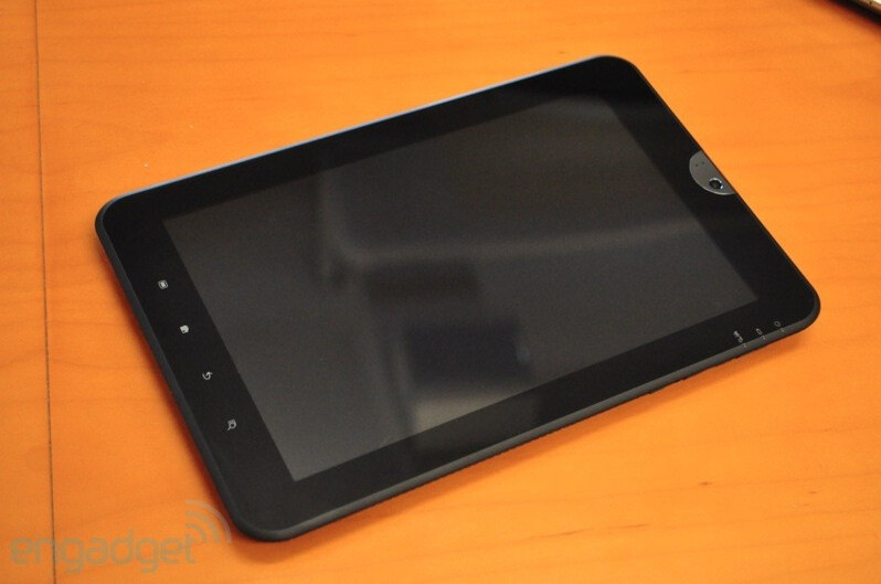 """Toshiba pops a 10"""" Android tablet with HDMI port and 1280x800 resolution"""