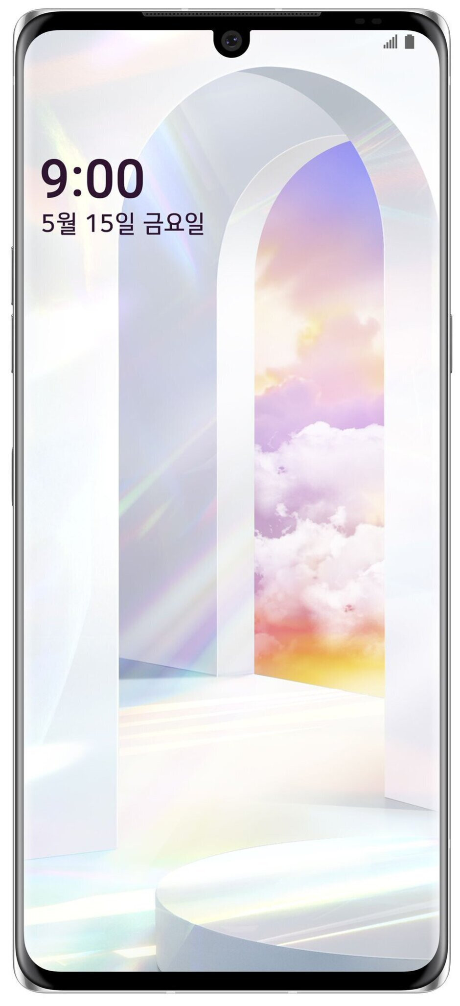 An LG Velvet render taken from the Wireless Power Consortium by tipster Evan Blass - New LG Velvet render is further proof that it will perhaps mark the end of the G series