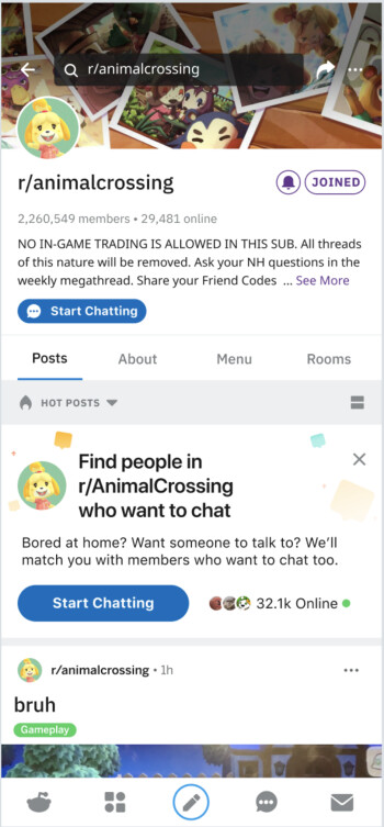The new feature can be accessed via popular subreddits - Reddit introduces a new subreddit-based chat feature