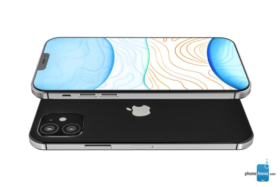 Apple iPhone 12 concept design render - Apple's 2020 iPhone 12 lineup pictured in beautiful design renders