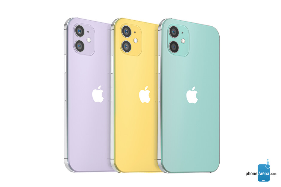 The boxy aesthetic of the iPhone 4 and iPhone 5 is poised to return on the new 2020 iPhone models - Apple's 2020 iPhone 12 lineup pictured in beautiful design renders