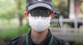 In the U.S. there is interest in the glasses from law enforcement, businesses and hospitals - These smart glasses fight COVID-19 by measuring other peoples' temperatures