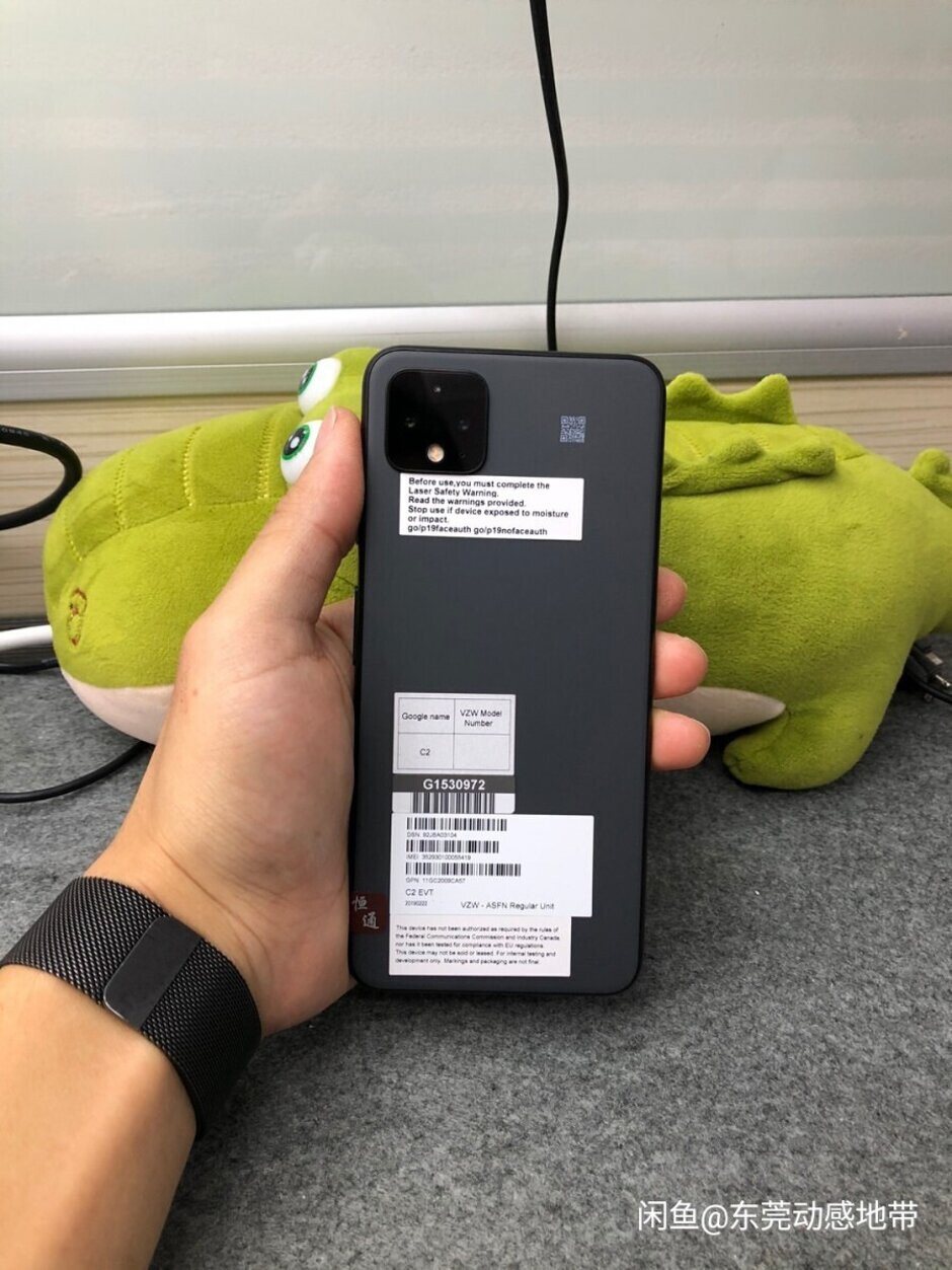 Matte gray Pixel 4 XL prototype surfaces on a Chinese online shopping site - Google Pixel 4 XL prototype is wearing a color you've never seen on this phone