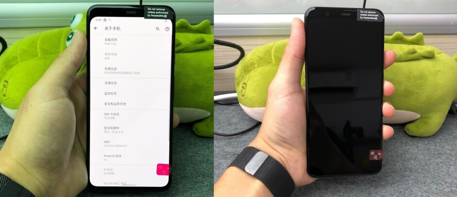 More photos of the matte gray Pixel 4 XL prototype - Google Pixel 4 XL prototype is wearing a color you've never seen on this phone