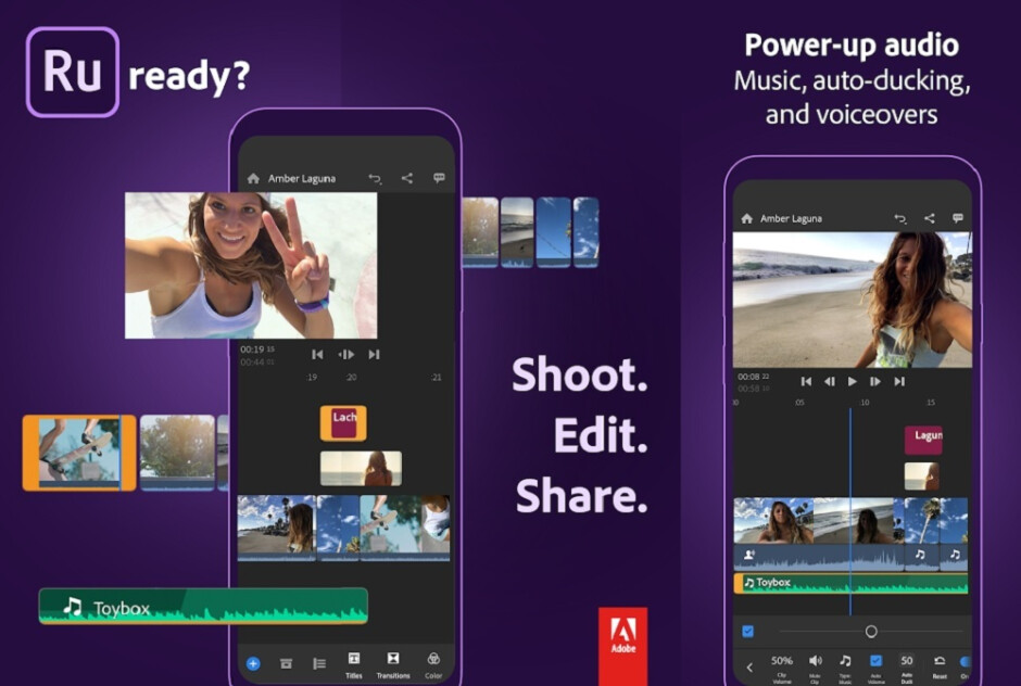 Adobe Premiere Rush is the most professional grade Android video editor, suited for YouTubers and influencers alike. - The 4 best Android video editing apps, for any budget and skill level