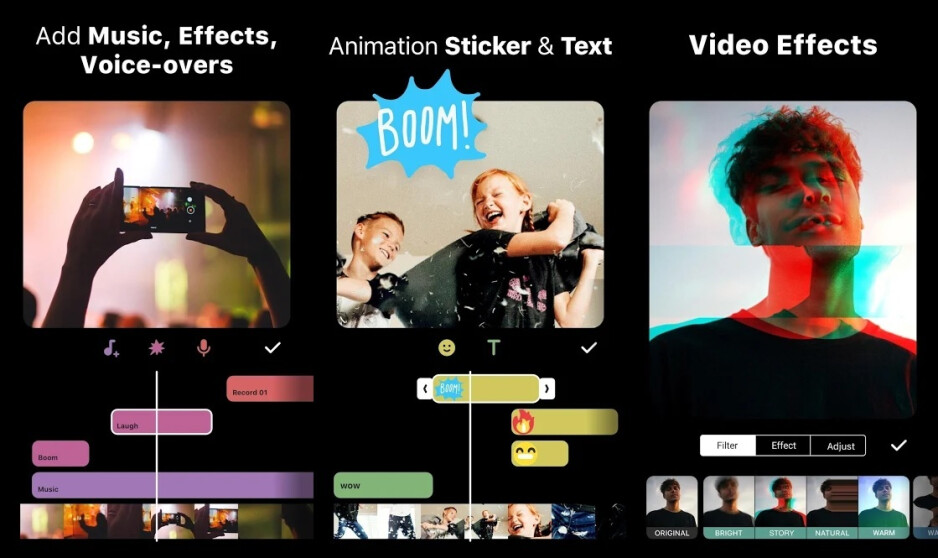 InShot is the perfect video trimming and enhancement app for social media influencers who value simplicity and ease of use overall. - The 4 best Android video editing apps, for any budget and skill level
