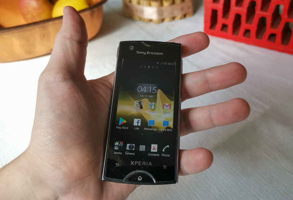 My beaten up Sony Ericsson Xperia Ray - Opinion: Give me back my compact Android phone!