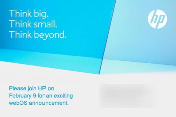 HP is holding a press event for a webOS announcement on February 9th