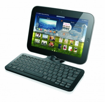 Lenovo LePad is an Android tablet that docks into a Windows 7 station