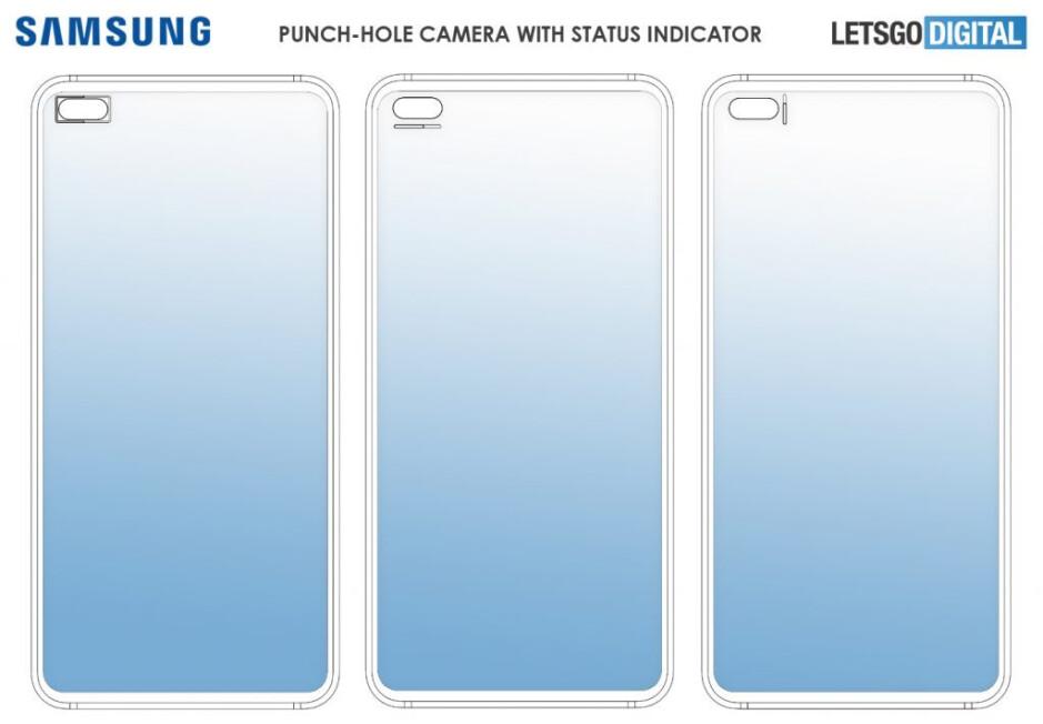 Samsung Galaxy Note 20 may have a status indicator surrounding its punch hole camera
