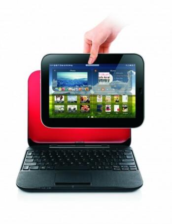 Lenovo LePad into the IdeaPad U1 Hybrid dock