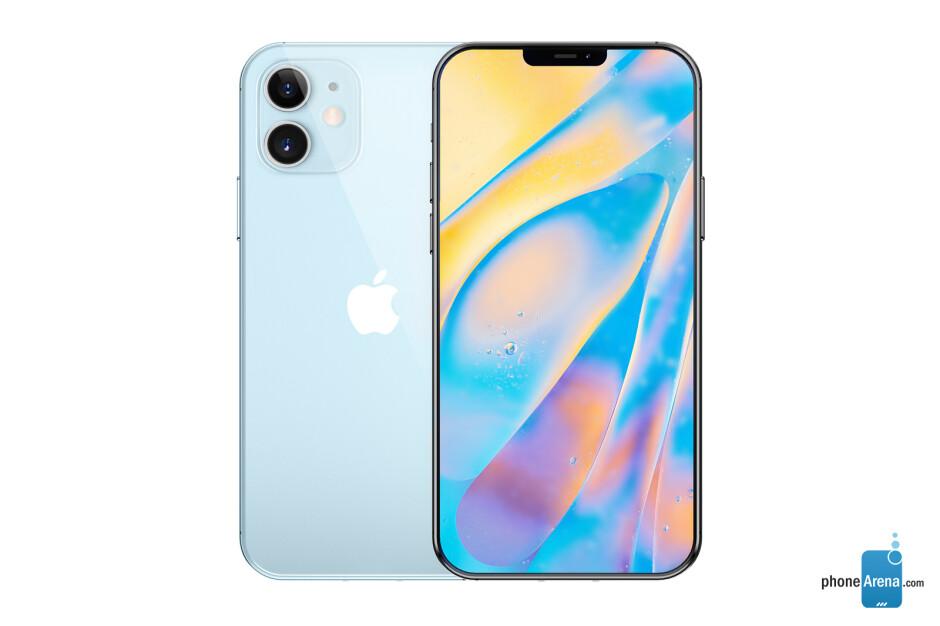 Apple iPhone 12 concept render - Juicy iPhone 12/Pro 5G leak reveals names, display upgrades, extra storage, more
