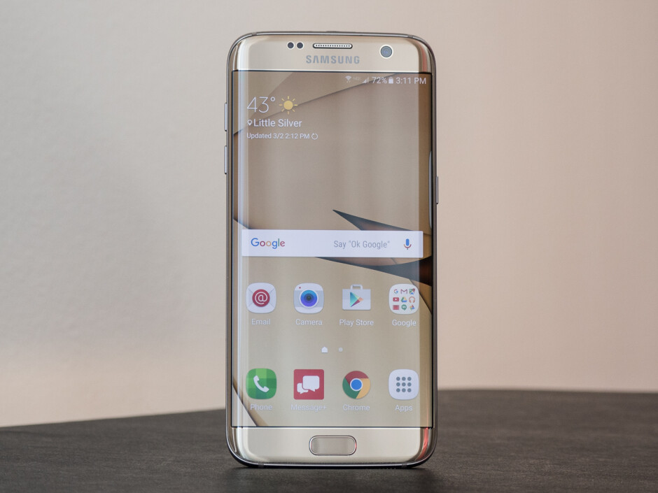Samsung Galaxy S7 Edge - quite a looker! - Phones are more fragile than ever, and it's all our fault