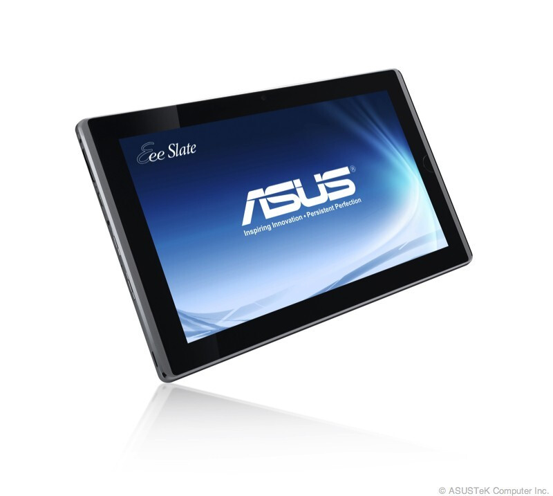 Asus Eee Slate EP121 - Asus steals the tablet show at CES with a quartet of incredible slates