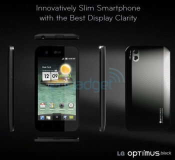 LG ads reveal the LG Revolution for Verizon's LTE network, and the thin LG Optimus Black