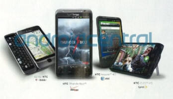 A Rolling Stone ad gives you the first image of HTC Inspire 4G, it is joined by the ThunderBolt