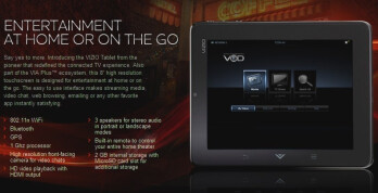 The Android-running Vizio VIA Phone and Vizio VIA Tablet are also your remote control