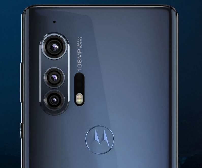 The Motorola edge+ features three rear cameras and a time-of-flight depth sensor - The 5G enabled Motorola edge+ receives a software update on its launch day
