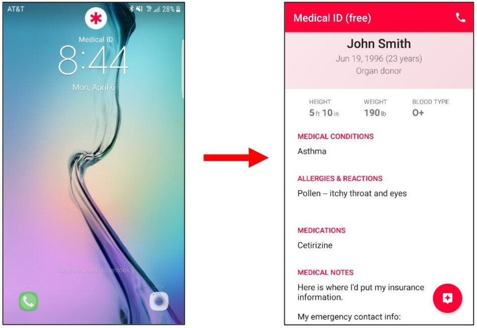 While it isn't a native feature to Android, users can download the Medical ID app from the Google Play Store - iOS 13.5 health feature can be the difference between life and death