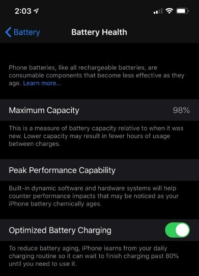 Apple eventually added a Battery Health meter to the iPhone so that users will know in advance when to replace the battery on their handset - Judge gives preliminary approval to settlement of iPhone #batterygate lawsuit