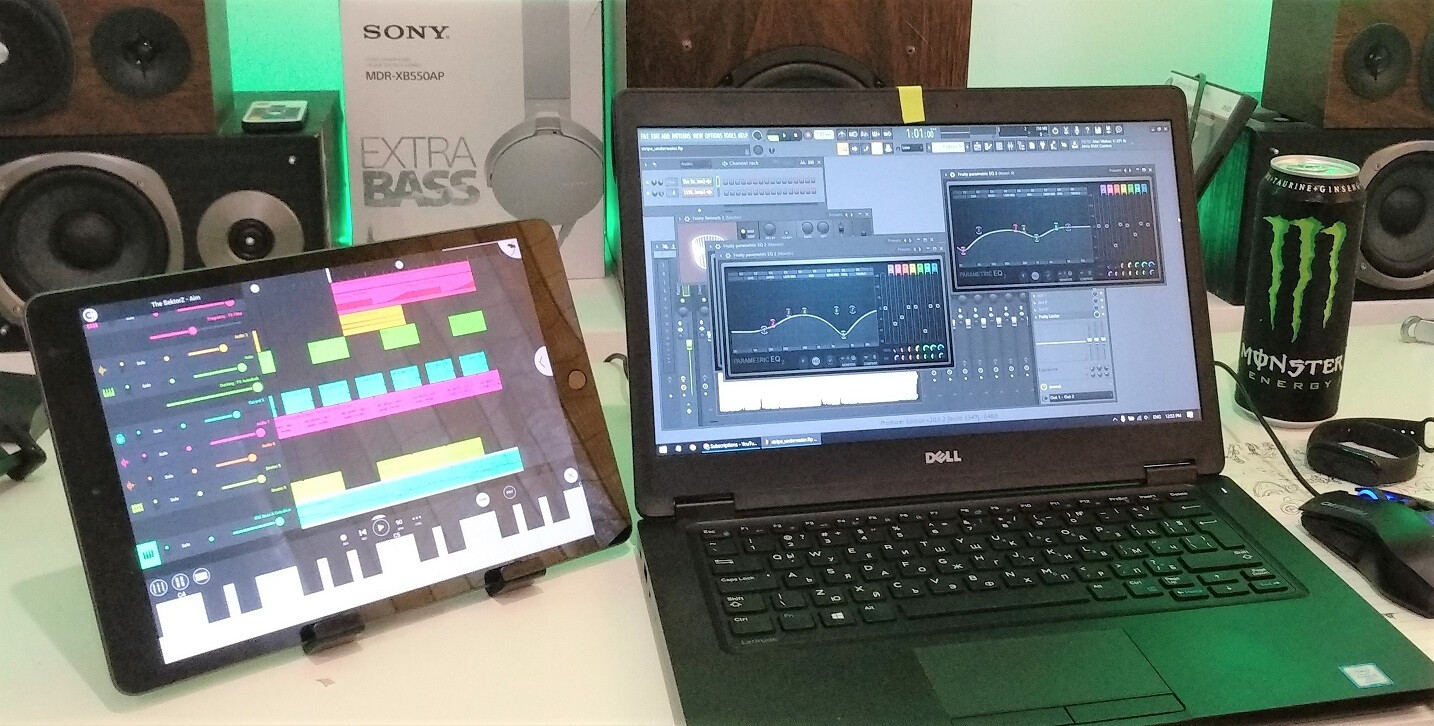 Making music on the iPad with FL Studio Mobile, as opposed to on a laptop with the desktop FL Studio. - How is the budget 2019 iPad holding up in 2020, still worth it?